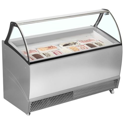ISA BERMUDA RV13 Ventilated Scoop Ice Cream Display